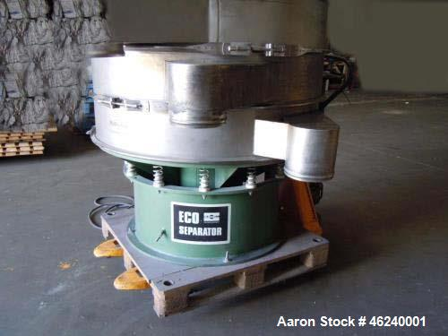 "Used- Russe Finex Eco Circular Sifter. 48"" deck diameter. (3) Decks. New 2010. 50 Hz."