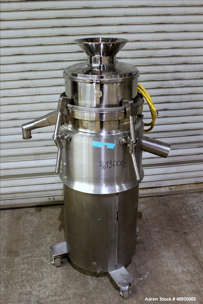Used- Sieve, 316 Stainless Steel.