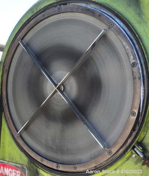 Used- Carbon Steel Shin-Tokyo Kikai Screen Air Classifier, model NR-600M