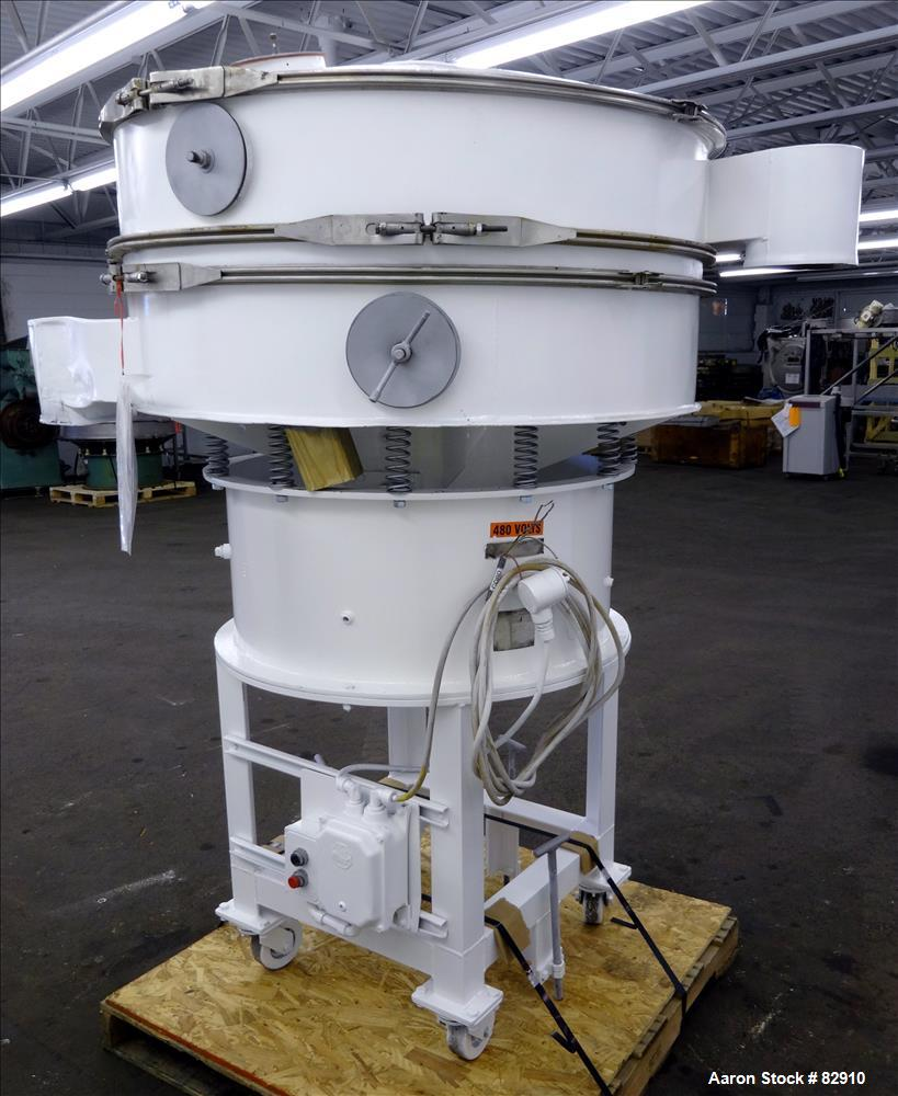 Used- Carbon Steel Southwestern Engineering Screener, Model D9357-3-A/C