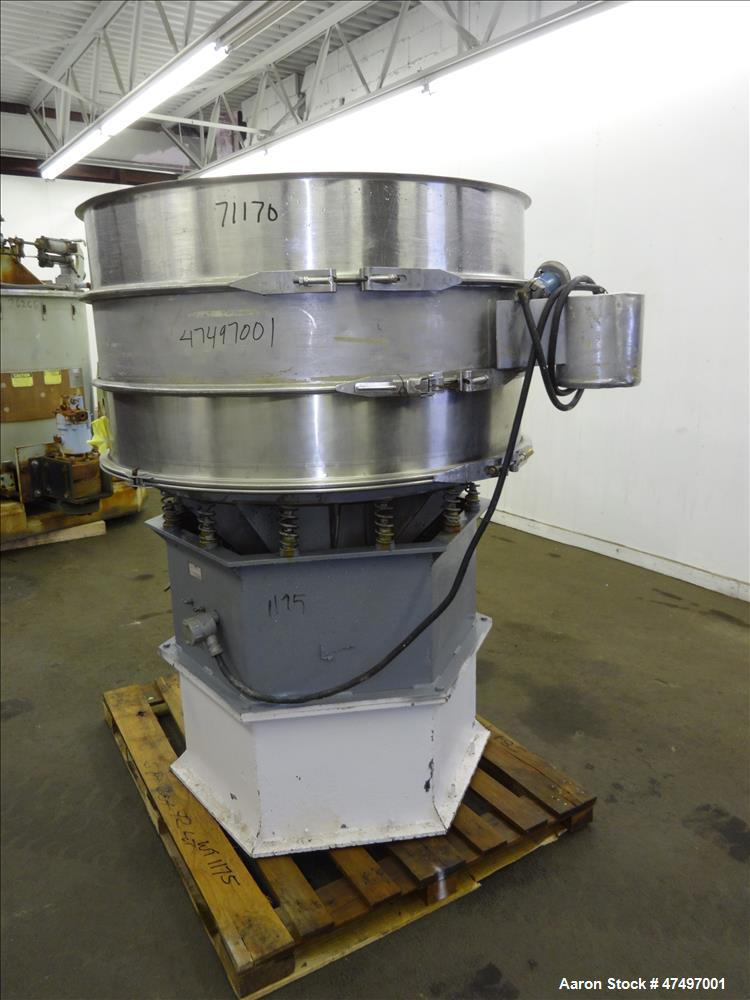 Used- Southwestern Wire Cloth Screener, 304 Stainless Steel.