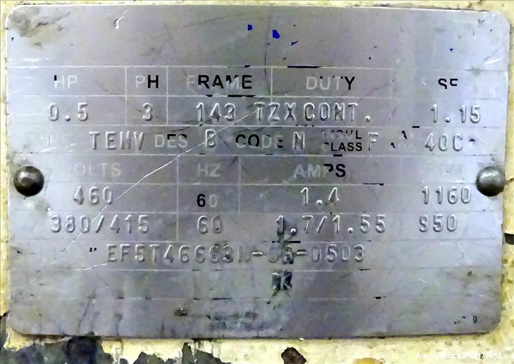 Used- Sweco Screener, Model ES30S84, 304 Stainless Steel.