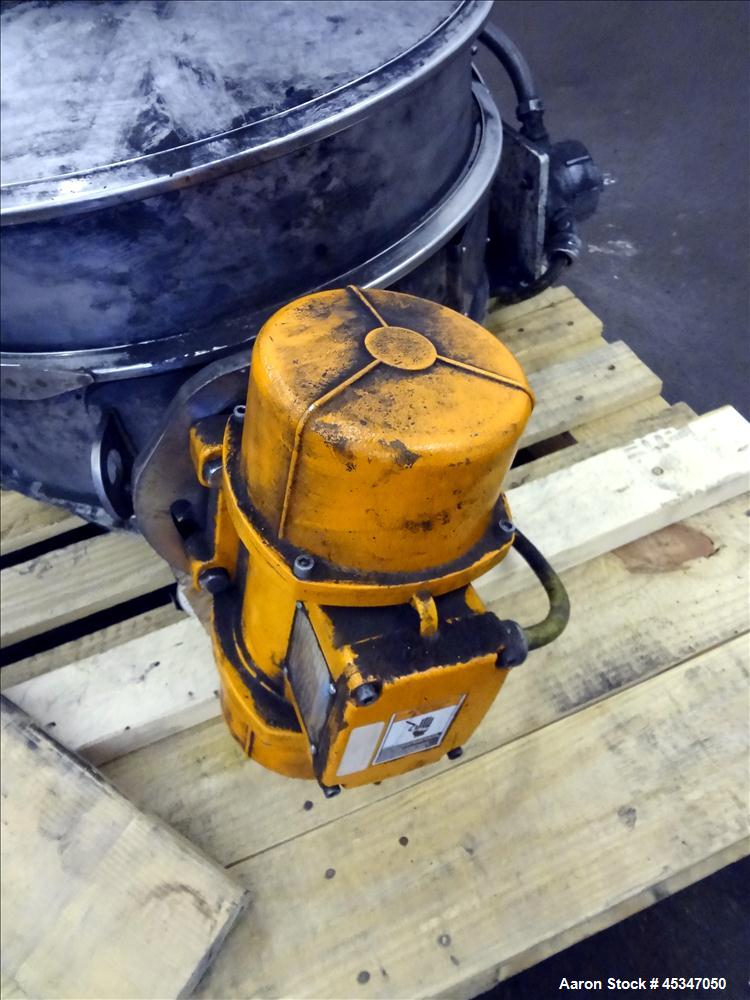 """Used- Sweco 18"""" SS Sifter"""