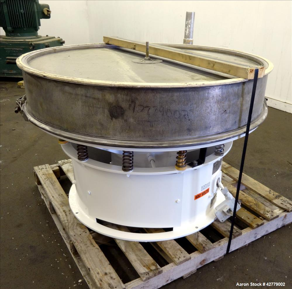 Used- Stainless Steel Sweco Screener, Model LS48S88