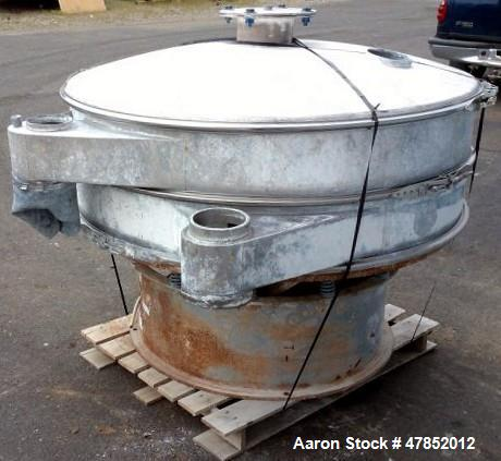 """Used- Sweco 60"""" Vibro Energy Separator, Model LS60S888, Stainless Steel."""