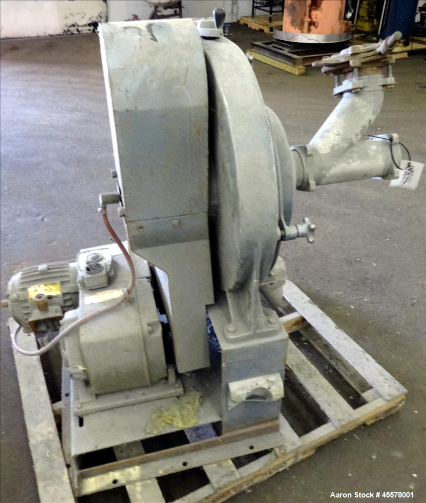 Used- Sweco Turbo Screen Air Classifier, Model TS18