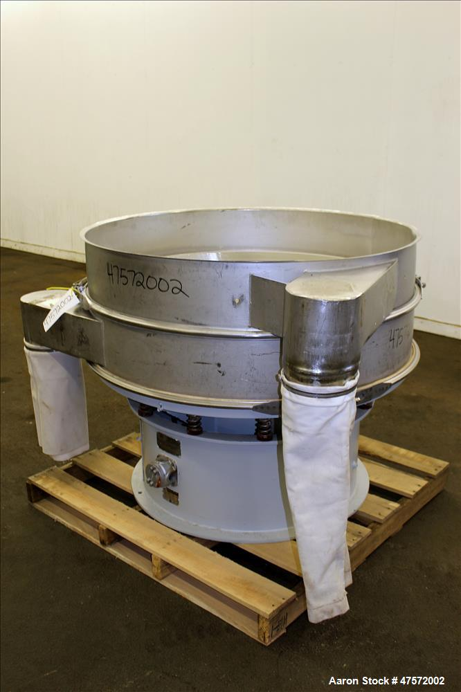 Used- Sweco Screener, Model US48S888, 304 Stainless Steel.
