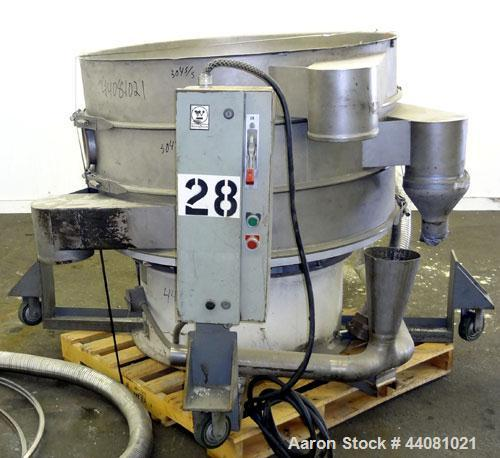 Used- Stainless Steel Sweco Screener, Model XS48S88