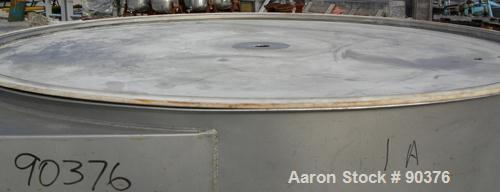 """USED: Sweco screener, model XS60S8888, 304 stainless steel. 60"""" diameter, triple deck, 4 separation. No top cover. Driven by..."""