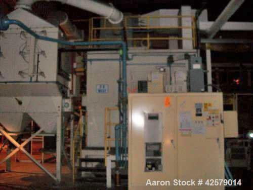 "Used- Progressive Technologies Media Blast System including:  Sweco 48"" diameter Separator, Stainles steel, 2-Deck, etc."