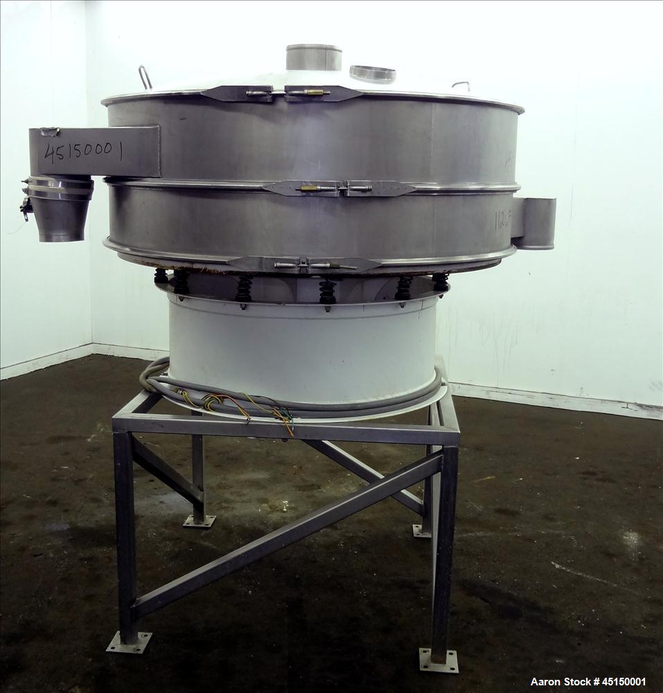 Used- Stainless Steel Sweco Screener
