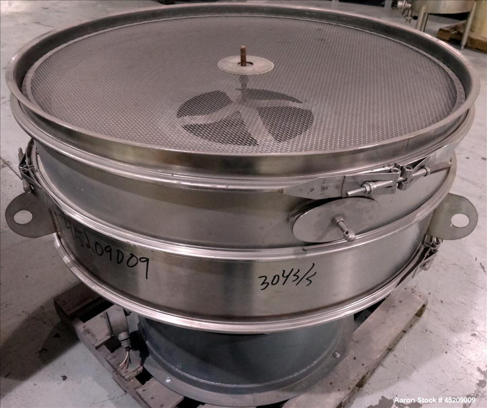 Used- Stainless Steel Rebuilt Dewco Screener