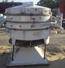 Used- Allgaier Tumbler Screening Machine, model TSM-1200/3, stainless steel. 48