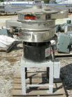 Used-  KasonScreener, Model K24-1-SS,304 Stainless Steel. 24