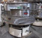 Used- Kason Screener, Model K-72-2-SS, 304 stainless steel. 72
