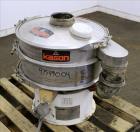 Used- Kason Screener, Model K24-1-SS, 304 Stainless Steel.