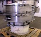 Used- Kason Screener, Model K40-1-CS/SS, 304 Stainless Steel. 40