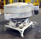 Used- Kason Screener, Model K60-1-SS, 304 Stainless Steel. 60