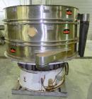 Used- Kason Screener, Model K-72-2-SS, 304 Stainless Steel. 72