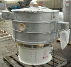 Used- Microner (Sweco Type) Screener, Model GS48-2-22, 304 Stainless Steel. 48
