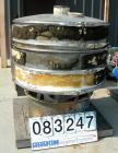 Used- Sweco Screener, Model S48C885, Carbon Steel. 48