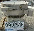 USED: Sweco screener, model S48S86666, 304 stainless steel. 48