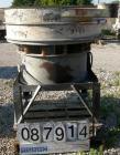 Used- Sweco Screener, Model US48-185-13, Carbon Steel. 48