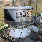 USED- Sweco Separator, Model US48S68. 304 Stainless Steel. 48