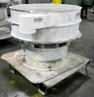 Used- Sweco Screener, Model US48S886, Stainless Steel. 48