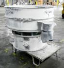 Used- Sweco Screener, Model US48S888, 304 Stainless Steel. 48
