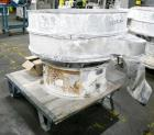 Used- Sweco Screener, Model US48S888, 316 Stainless Steel. 48