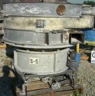 USED: Sweco screener, model US60C88D, carbon steel. 60