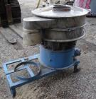 Used- Sweco Screener, Stainless Steel, Model S24C44. 24