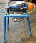 Used- Vorti-Siv Vibratory Sieving Machine, Model RVM-15E, 304 Stainless Steel. (1) 15
