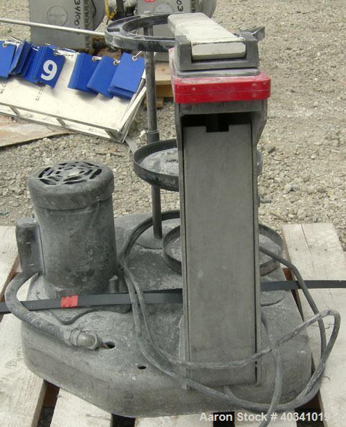 "Used- W.S. Tyler Rotap testing sieve shaker, model B, 8"" diameter. Driven by a 1/4 hp, 1/60/115/208-230 volt, 1725 rpm motor..."