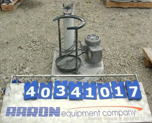 """Used- W.S. Tyler Rotap testing sieve shaker, model RX29, 8"""" diameter. Driven by a 3/4 hp, 1/60/115/208-230 volt, 1725 rpm mo..."""