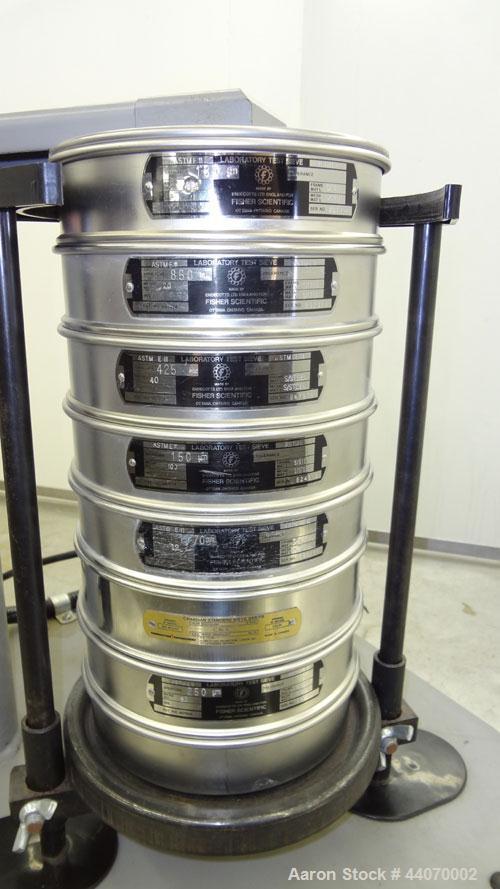 "Used- W.S. Tyler Ro-Tap Testing Sieve Shaker, Model RX-29. 8"" Diameter. 278 Revolutions per minute, 150 tappings per minute...."