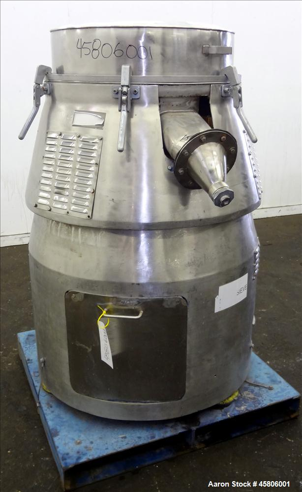 """Used- Vorti-Siv Model RBF-3, 30"""" diameter,  S/N MR1359"""