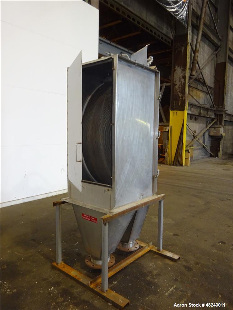 Used- DSM Sieve-Bend Screening Unit, 316 Stainless Steel.