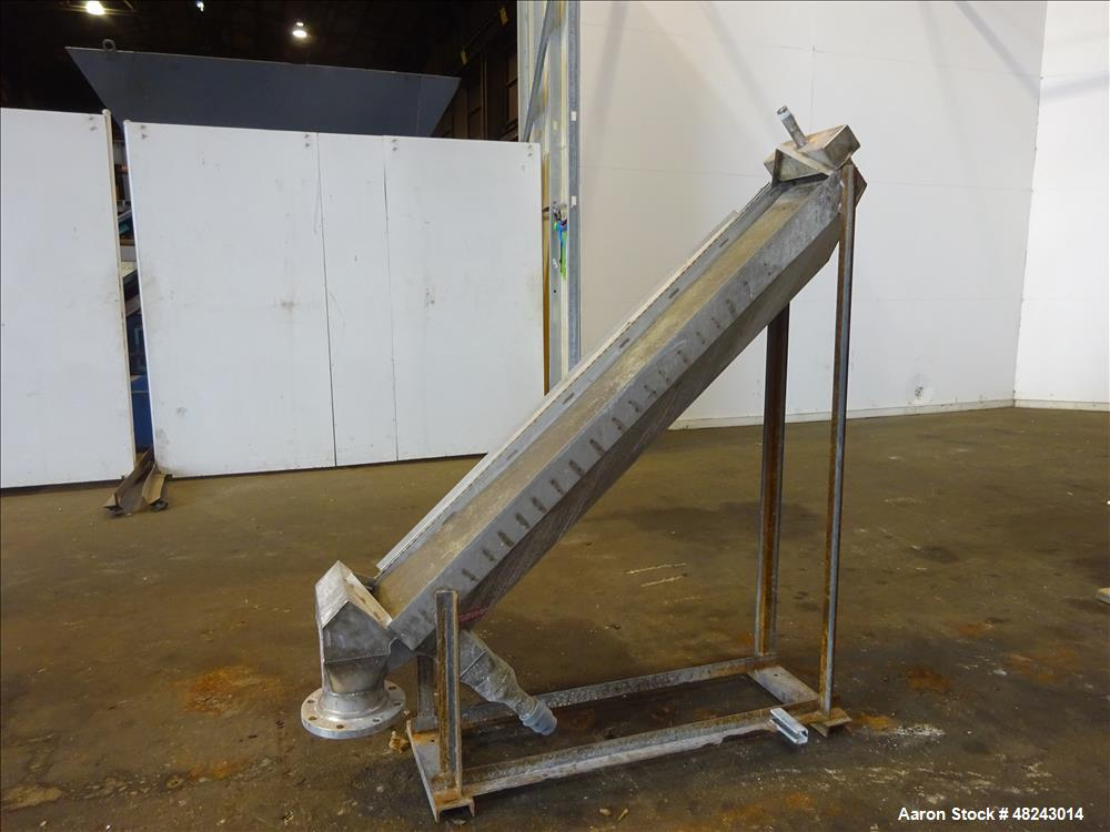 Used- Inclined Gravity DSM Screening Unit, 304 Stainless Steel.
