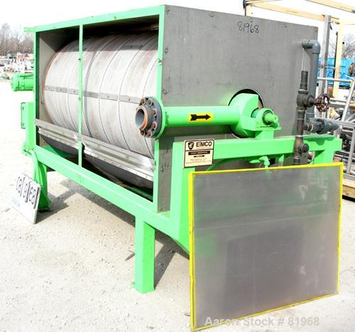 Used: Eimco Rotary Drum Concentrator,