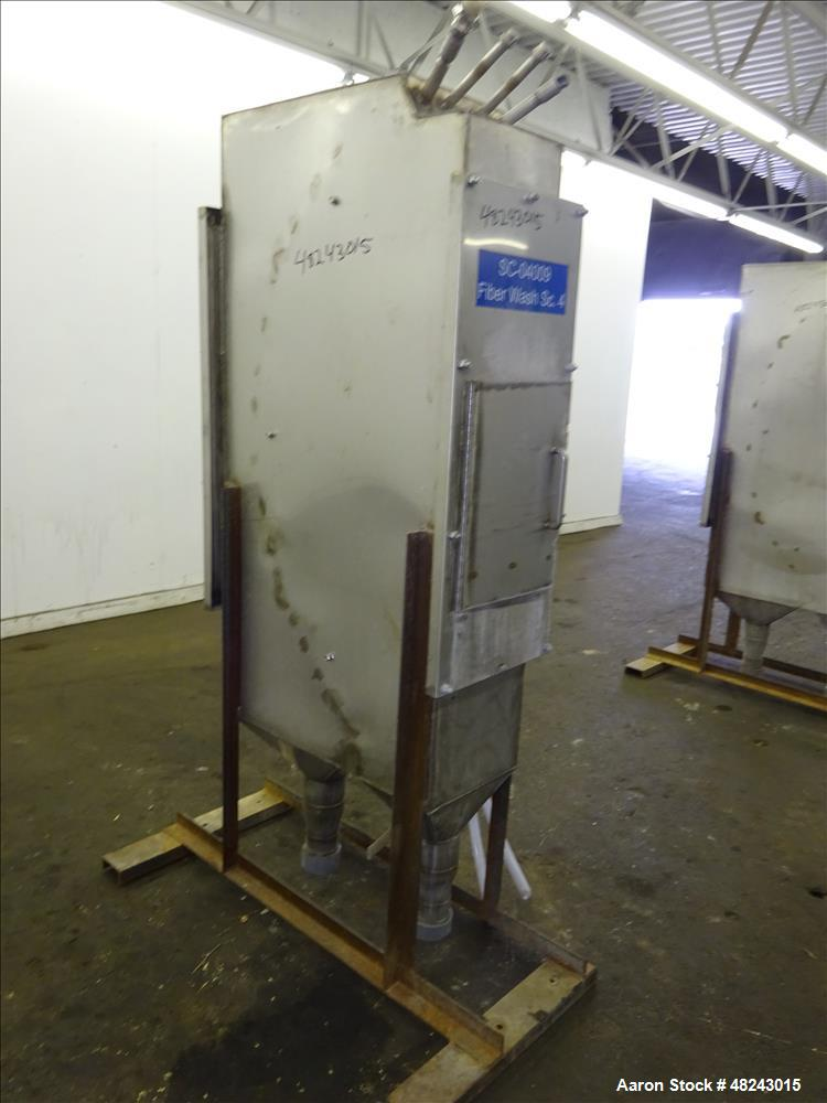 Used- Johnson Screens Vee-Wire DSM Sieve-Bend Screening Unit, 316 Stainless Stee