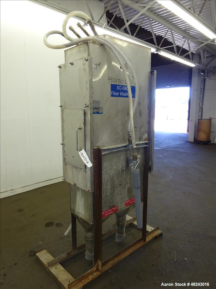 Used- Johnson Screens Vee-Wire DSM Sieve-Bend Screening Unit, 304/316 Stainless