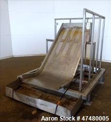 Used- Incline Filter/ Sieve, 304 Stainless Steel.