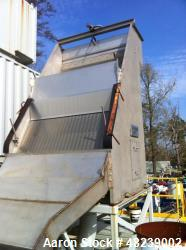 Used- US Screen Hydratower. odel 72 Tandem Static Screen.