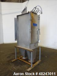 Used- DSM Sieve-Bend Screening Unit, 316 Stainless Steel.