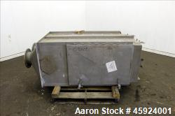 "Andritz Sprout-Bauer HydraSieve, Model 522-1, 316 Stainless Steel. 60"" Long x 24"" wide screen. Top ..."