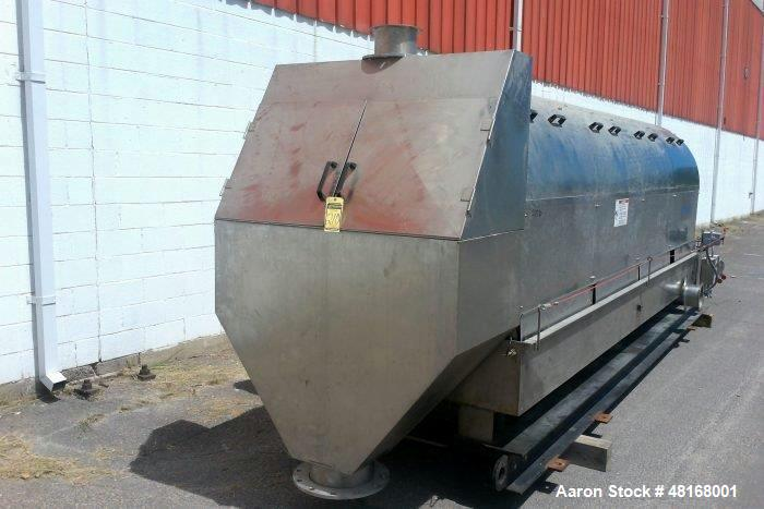 Used- Parkson Hycor ThickTech Rotary Drum Thickener, Model RDT 400.