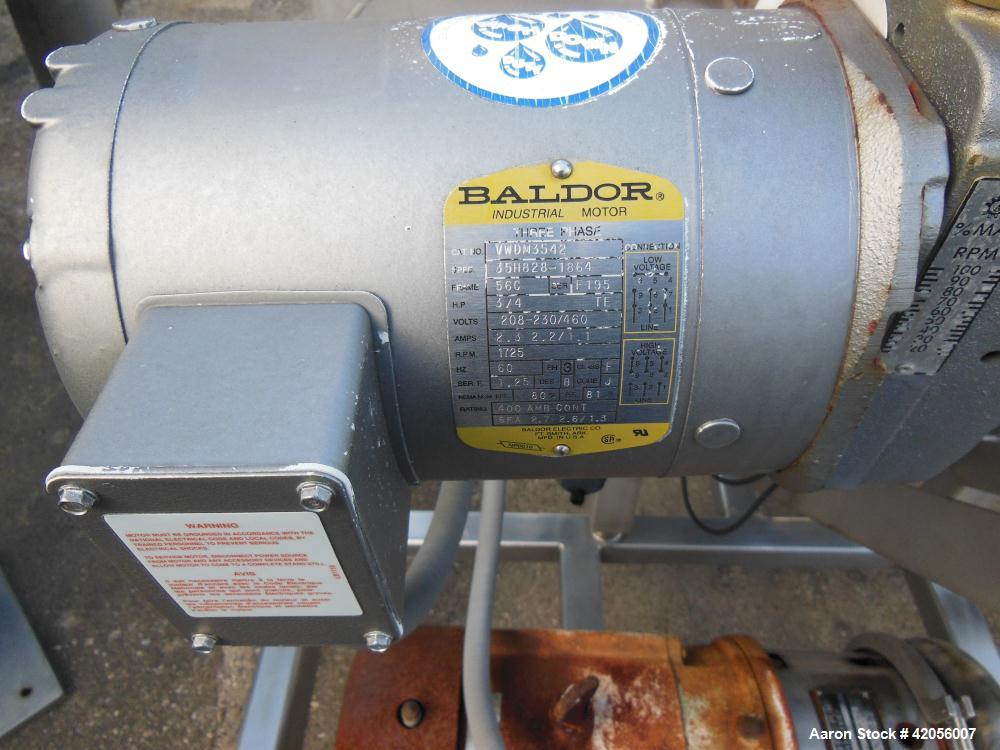 Used- Stainless Steel Sani-Matic Rotary Drum Strainer