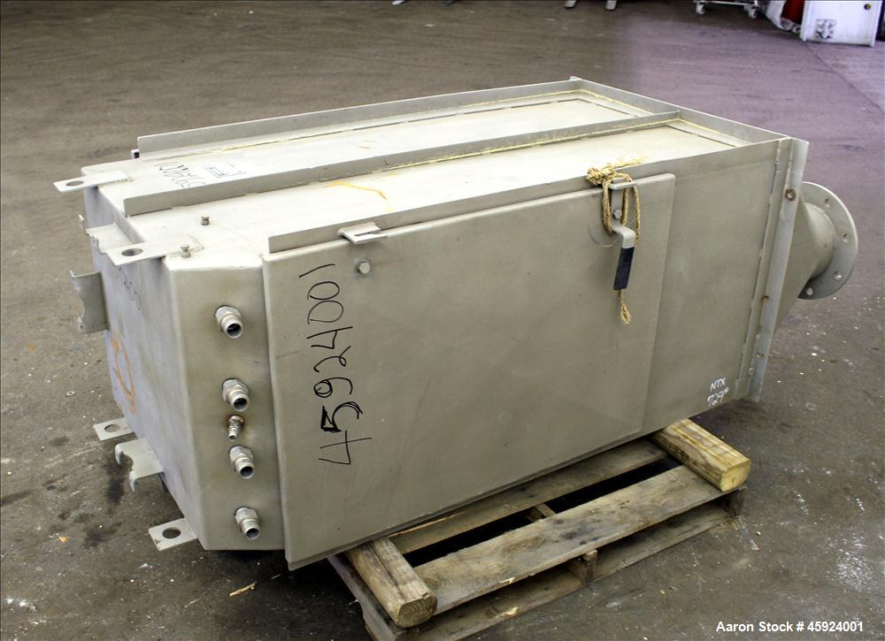 """Used- Andritz Sprout-Bauer HydraSieve, Model 522-1, 316 Stainless Steel. 60"""" Long x 24"""" wide screen. Top inlets (4) 1"""", (1) ..."""